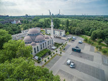 One of the biggest mosques in Germany under the sun Stock Photos