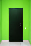 One black door Royalty Free Stock Photos