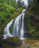Waterfall black forest royalty free stock photos