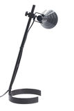 One black lamp Stock Photography