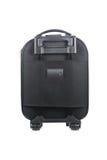 one black luggage isolated on white Stock Photo