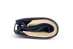 One black purse Stock Image