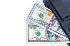 One black purse Stock Photos