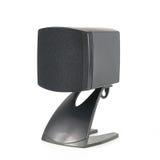 one black speaker isolated on white Royalty Free Stock Image