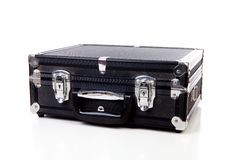 One black suitcase Royalty Free Stock Image