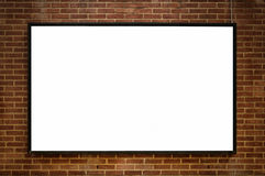 One blank board 02 Royalty Free Stock Images