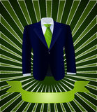 Costume for Green business Stock Photo