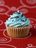 One blue Cupcake Royalty Free Stock Photo