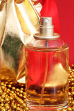 One bottle of perfume Royalty Free Stock Photos