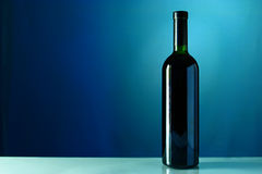 One bottle of wine Stock Photo