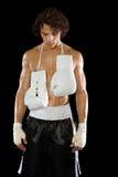 One boxer Royalty Free Stock Photos