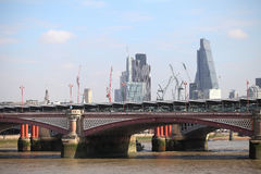 One of the bridges in central London Royalty Free Stock Photos