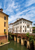 Vicenza, Italy. One of bridges in the city Vicenza, Italy stock image