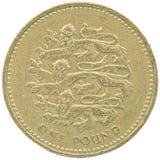 One british pound. Stock Photos