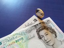 One british pound, new type 2017 Royalty Free Stock Photos