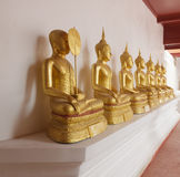 One buddha have face cover Royalty Free Stock Photography