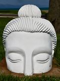 One of 10,000 Buddha Heads Stock Photo