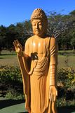 Golden Buddha Statue, Brazil Chen Tien Temple. One of the 108 Buddhas from the Foz do Iguaçu Chen Tien Buddhist Temple, Brazil. In different Buddhist and stock photo