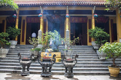 One of buddhist temples in Hanoi Royalty Free Stock Image