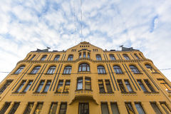 One of the buildings in the Old area of Riga, Latvia. Travel. Stock Images