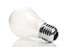 One bulb lamp Stock Image
