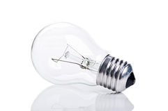 One bulb lamp Stock Photo