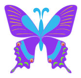 One butterfly Royalty Free Stock Photos