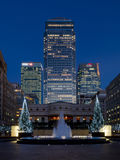 One Canada Square Canary Wharf Tower, London Royalty Free Stock Photos