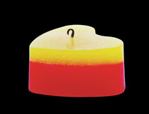 One candle. Stock Photos