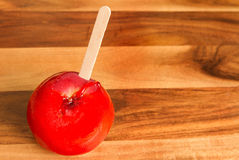One candy apple Stock Images