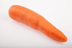 One carrot  on white background Royalty Free Stock Photos