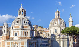 One of the cathedrals in Rome.Italy. Travel Royalty Free Stock Images