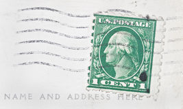 One Cent Stamp Royalty Free Stock Photos