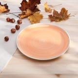 One ceramic plate Stock Photos