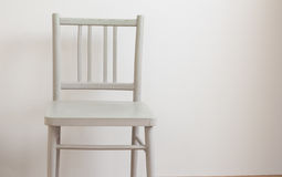 One chair in empty room Royalty Free Stock Photos