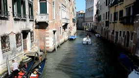 One of the channels of old Venice stock footage