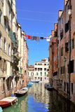 One of channels in Venice, Stock Images