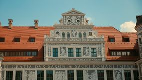One of the characteristic buildings of Dresden Royalty Free Stock Photography