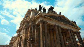 One of the characteristic buildings of Dresden Royalty Free Stock Photos