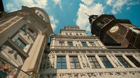 One of the characteristic buildings of Dresden Royalty Free Stock Images