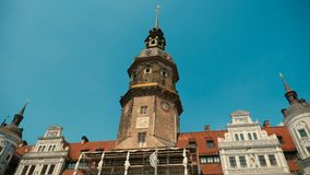 One of the characteristic buildings of Dresden Royalty Free Stock Photo