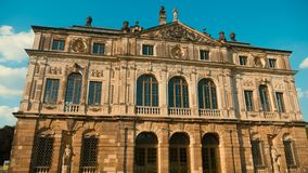 One of the characteristic buildings of Dresden Royalty Free Stock Image