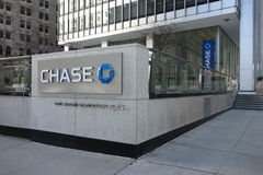 One Chase Manhattan Plaza Royalty Free Stock Photos