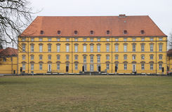 One chateau with park Stock Photography
