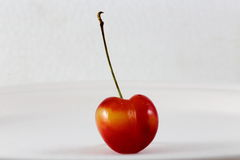 One Cherry Royalty Free Stock Photography