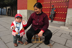 One child policy in china Royalty Free Stock Images