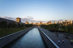 Datong:a city that restores the ancient appearance stock photography
