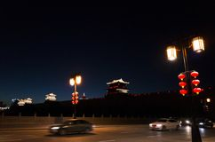 Datong:a city that restores the ancient appearance stock image
