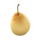 One chinese pear Stock Photography
