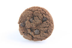 One chocolate biscuit Royalty Free Stock Image